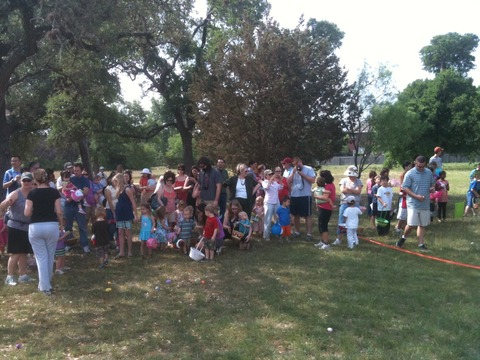 Annual Easter Egg Hunt, Saturday, March 26